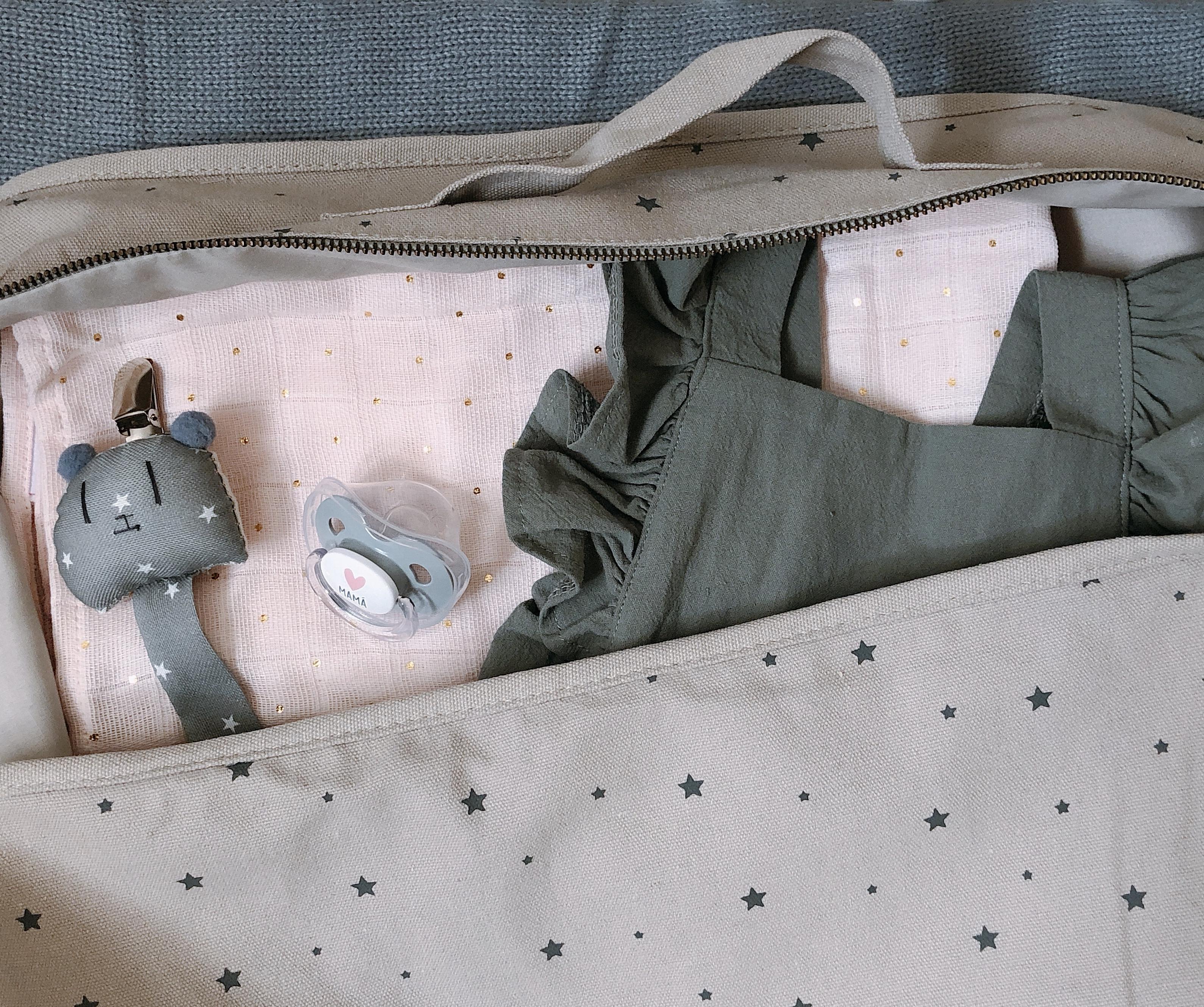Maleta de maternidad de Cuarenta Semanas
