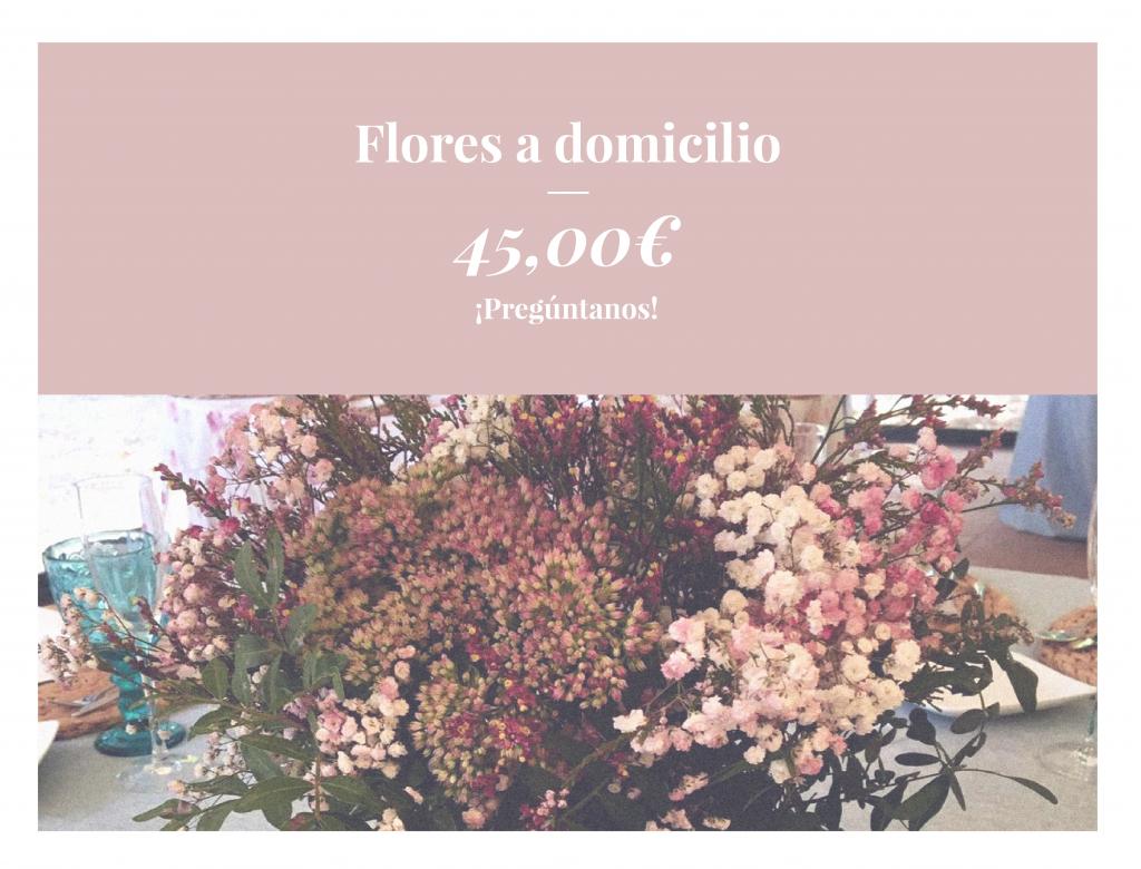 Flores a domicilio en Zaragoza
